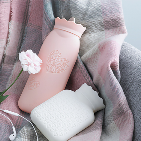 硅胶热水袋注水暖手宝