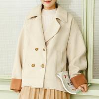 秋冬季新款宽松毛呢外套